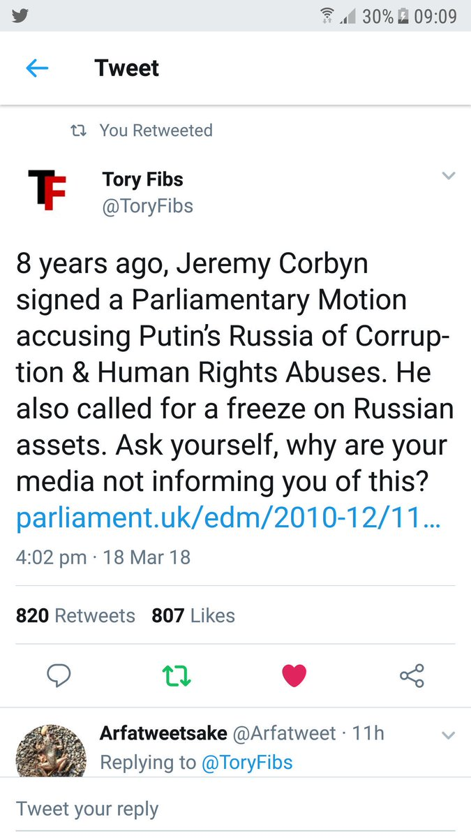 Unlike the Tories Corbyn will hold Russians to account #NeverTrustATory #Brexit #r4today #PoliticsLive #newsnight