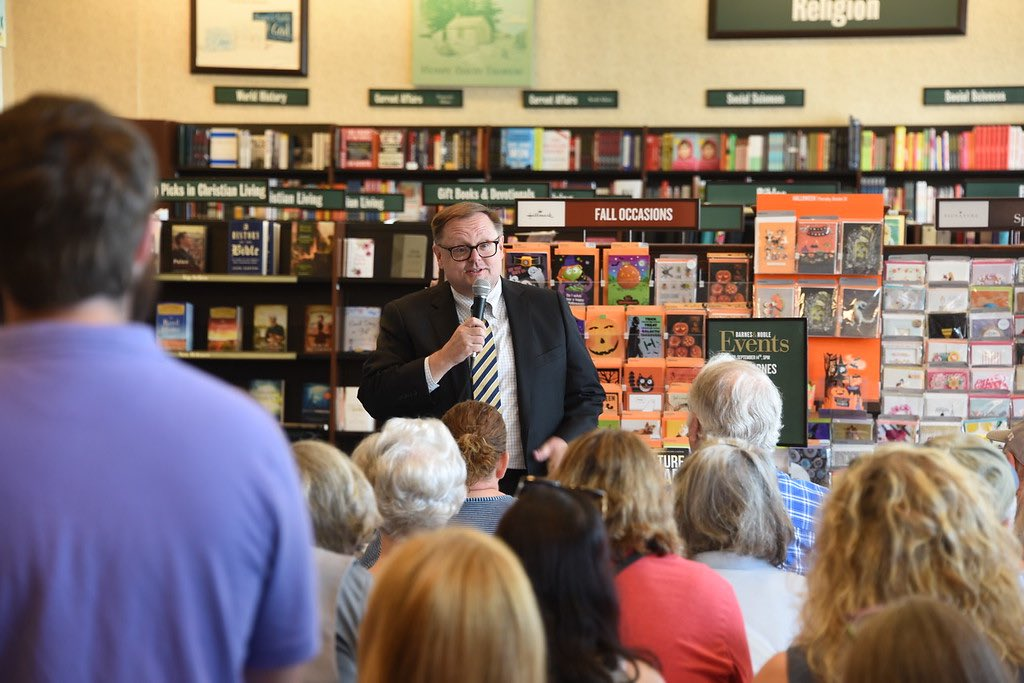 Thank you for a great afternoon in Memphis on my book tour! #CultureJihad @BNBuzz @BNWolfchase