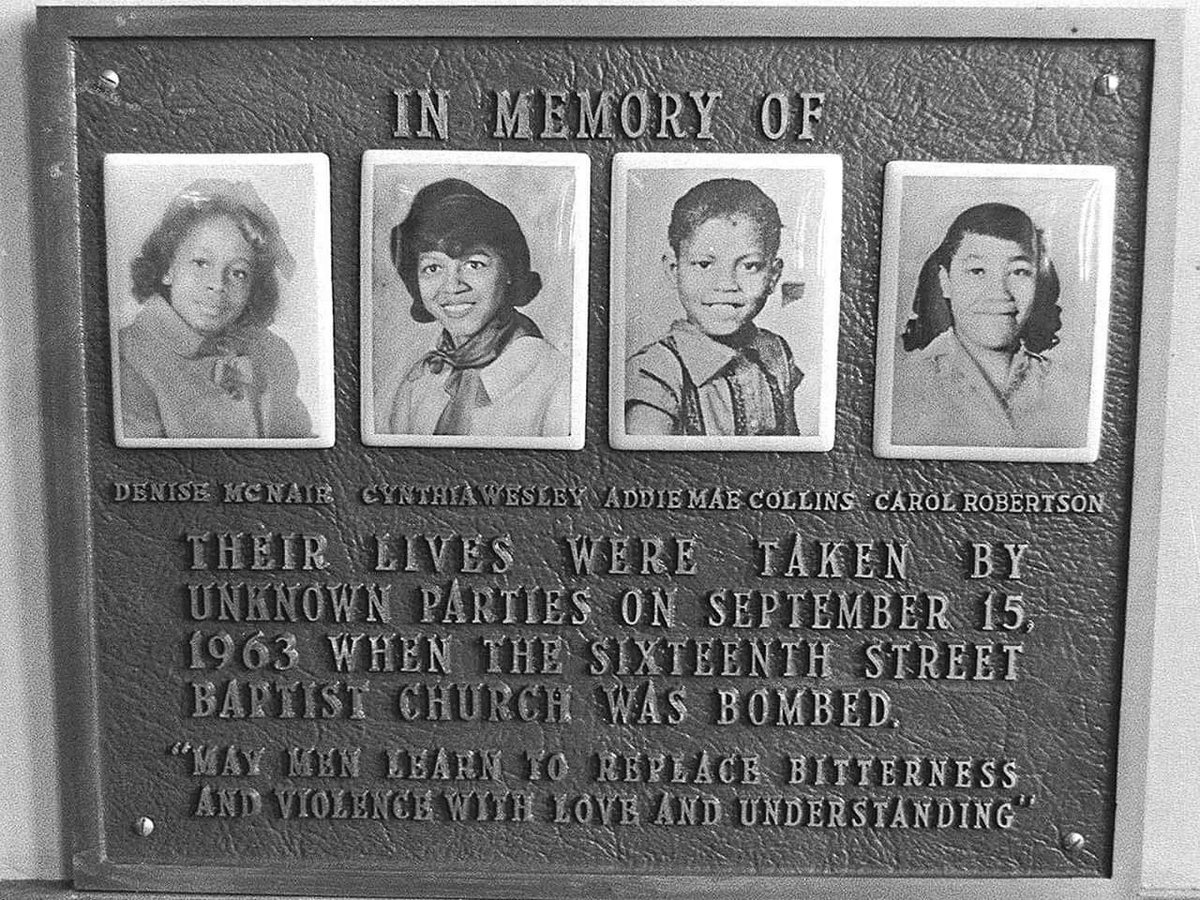 TODAY IS 9/15!!! WE REMEMBER!! #NeverForget Long before 9/11 there was September 15, 1963!!!  Lest we forget...#4littlegirls Say their names: #CaroleRobertson #DeniseMcNair #AddieMaeCollins #CynthiaWesley #domesticterrorism #racism #JackandJillofAmerica