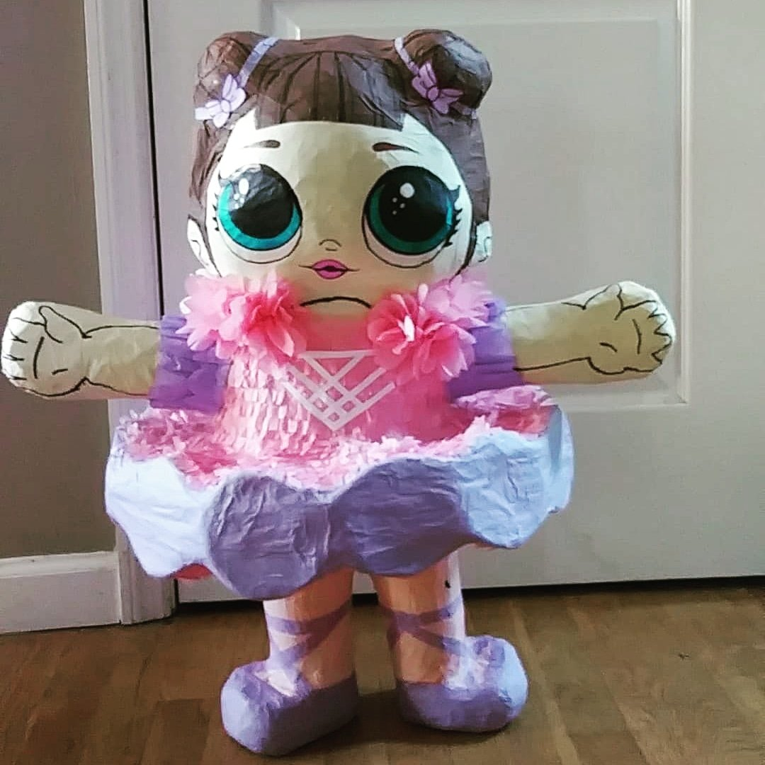 Hi everyone...I introduce to all of you my recent creation: THE L.O.L. #DOLL #BALLERINA #PIÑATA and is AVAILABLE FOR SALE.Hurry up and contact me @(347) 304-4612 (347) 356-1351 orMessage me for more information.http://www.Facebook.com/kiannysprojectscrafts…#lol #LOLSurprise #LOL募集 #Doll #ballet