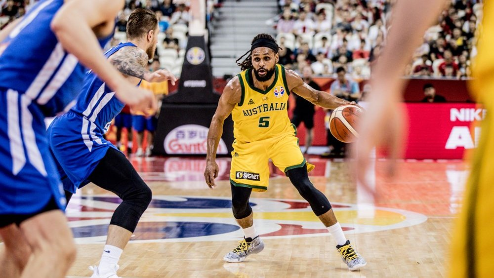 BOOMERS | Boomers superstar, Patty Mills was dominant at the @FIBAWC.  He finished with averages of 22.8 points on 40% shooting from deep, 2.3 rebounds and 3.9 assists. His point total of 182 was the second highest in the tournament.  #GoBoomers #AustraliaGotGame #FIBAWC