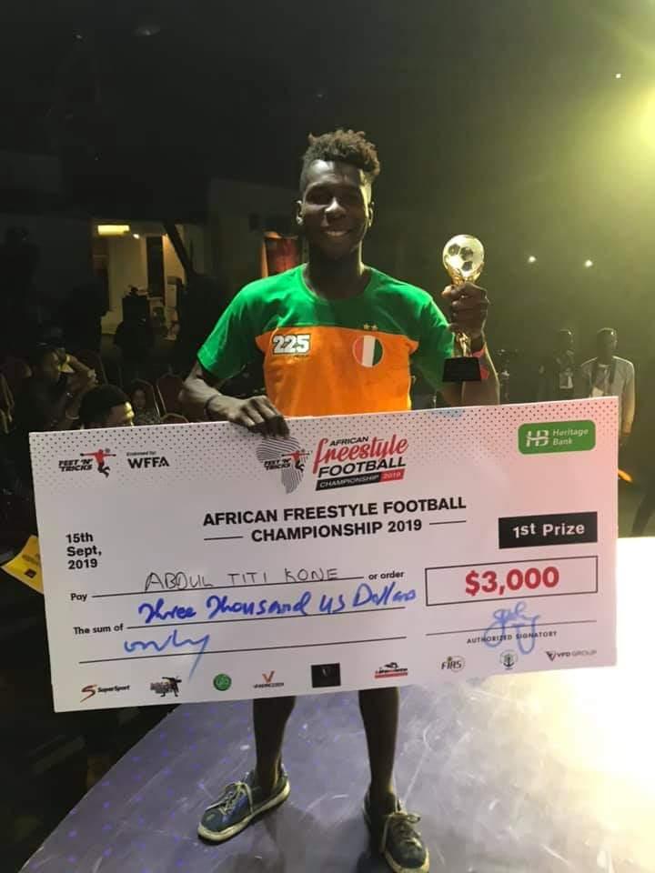 [NEWS] Félicitations à Titi Kone 🇨🇮 champion d'Afrique de freestyle pour la 2e fois consécutive au Nigeria. https://t.co/ioUa8hSuua
