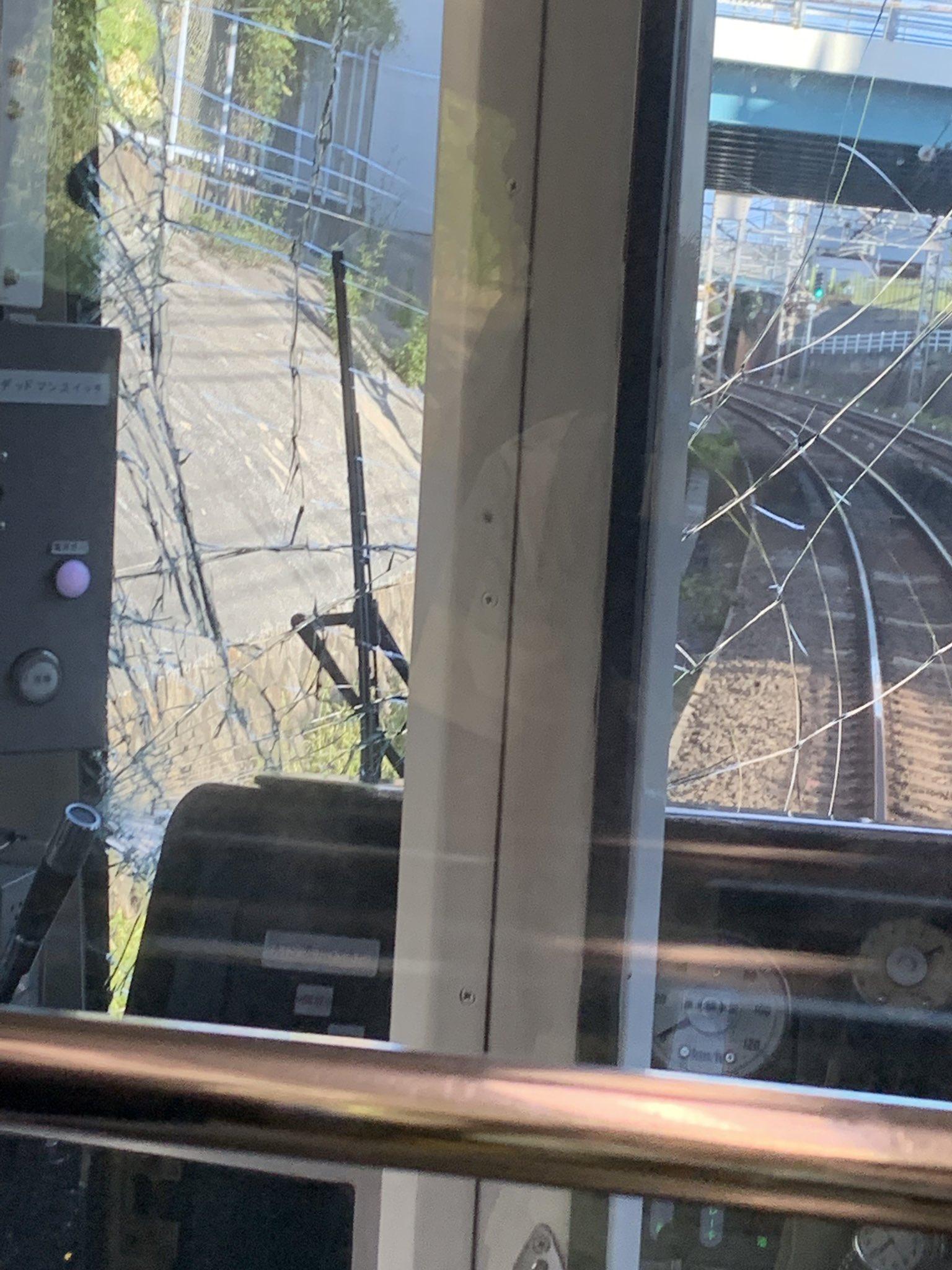 南海高野線の帝塚山駅で人身事故が起きた現場の画像