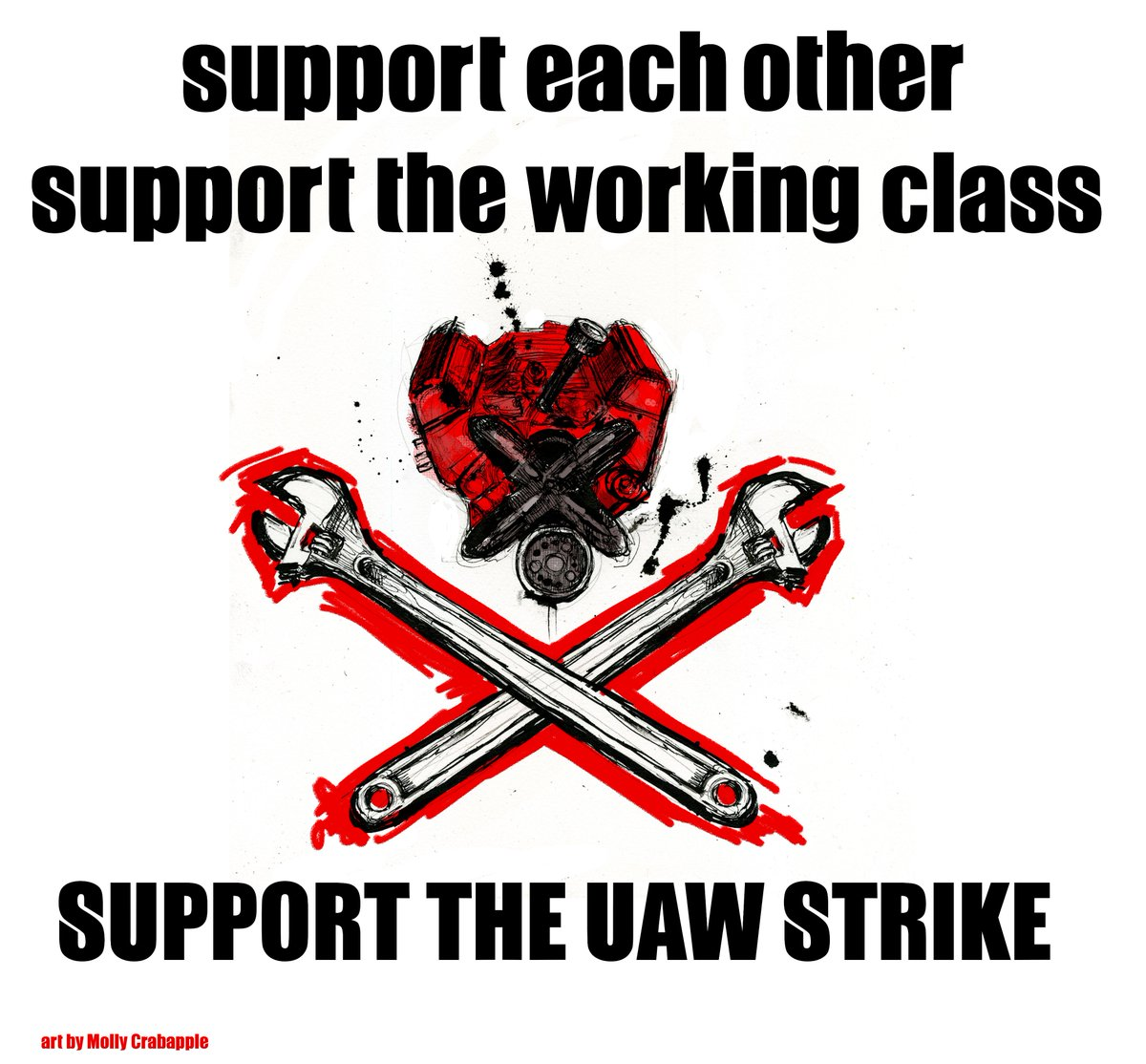 All support for the 46,000 striking UAW workers vox.com/policy-and-pol… #UAW #UAWStrike