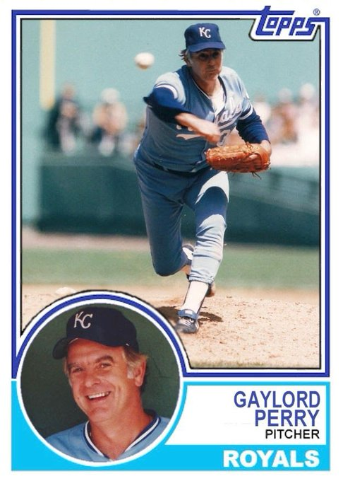 Happy Birthday baseball  great Gaylord Perry