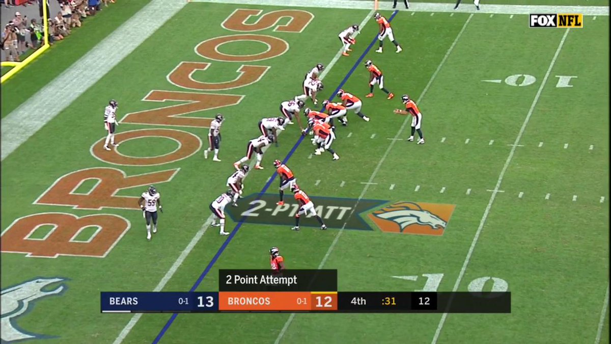 The Ending Of Bears-Broncos Game Was Absolutely Wild