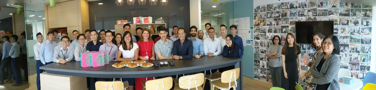 Our #Singapore team celebrated #MidAutumnFestival on Friday with some delicious mooncakes 🥮#FDMcareers