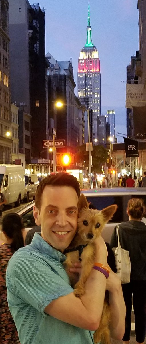 Natasha and I are basking in the glow of the lights from the Empire State Building celebrating #MexicanIndependenceDay! <br>http://pic.twitter.com/aUJs4s4rRG