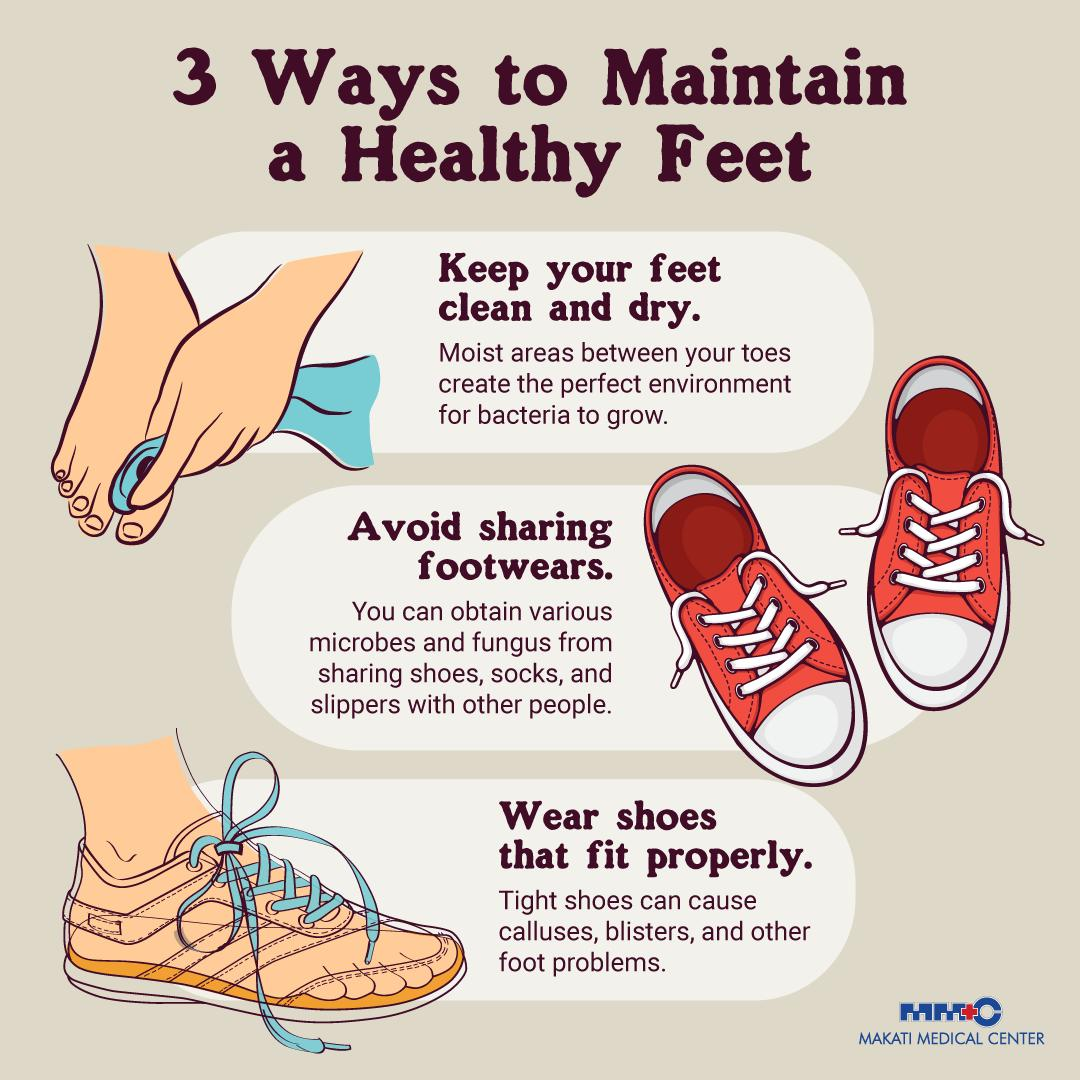 Do you always get blisters and other foot problems? Its time to show some love to your feet! Check out these simple ways on how to care for them. #MakatiMedOfficial #YourHealthMatters