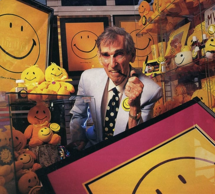 This man invented the smiley face in 1963. He was paid $45. cnn.it/2AmIvCB