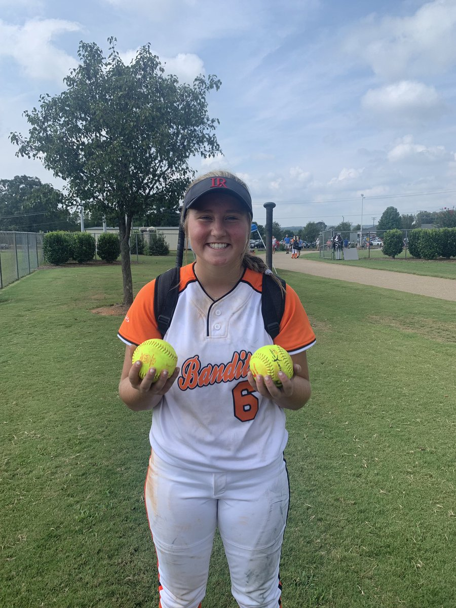 Home Runs 2020.Lrsoftball 2020 Commit Payton Bryant With Two Home Runs On