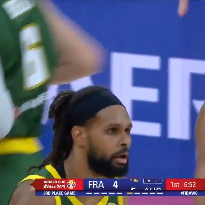 🇦🇺🎥  Check out the best plays from @Joeingles7' team-high 17 PTS and @Patty_Mills' 15 PTS in Australia's last game at the #FIBAWC. #AustraliaGotGame