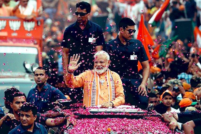 "Wish u Happy birthday & God bless u, \""Indian Prime Minister.Narendra Modi\"" .."