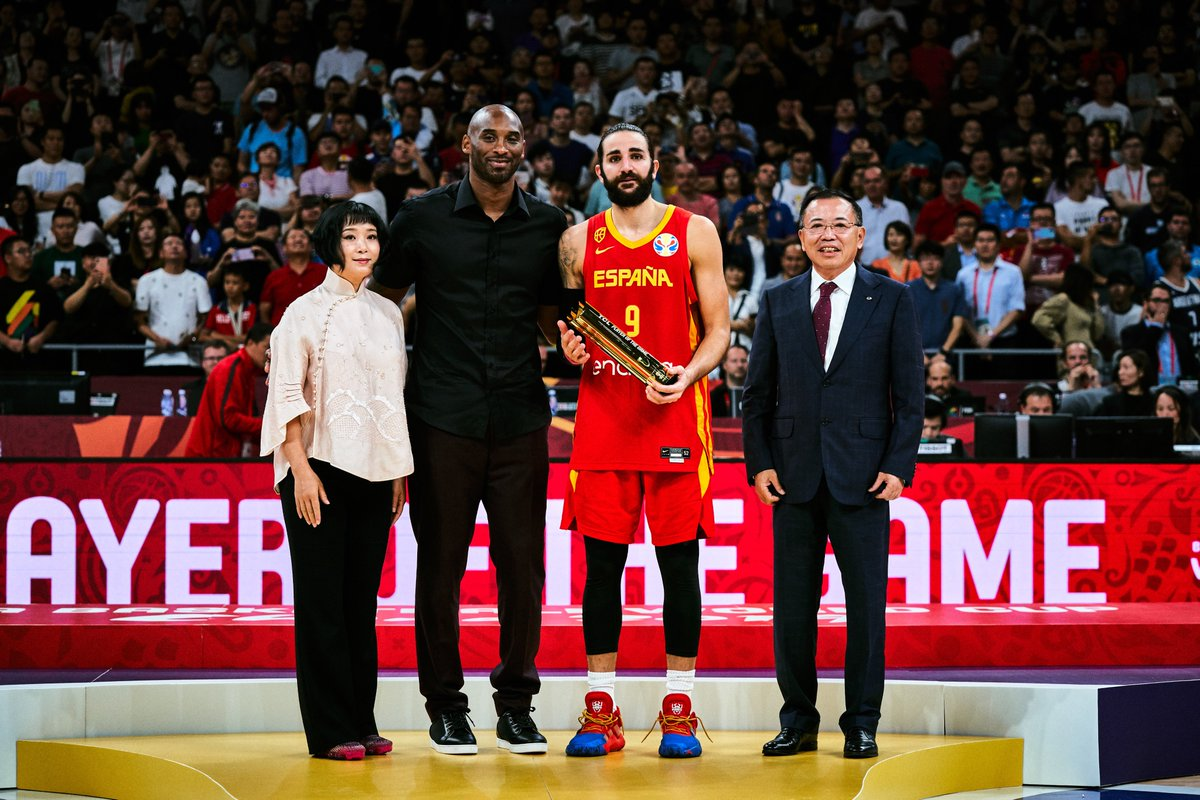 Amazing final. Well deserved @rickyrubio9!! Congrats on a special year and watching you grow has been truly remarkable. Keep pushing MVP💪🏽#EspañaGotGame #FIBAWC