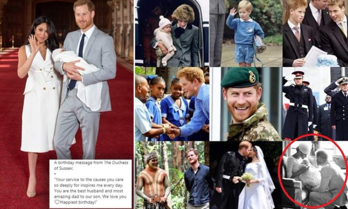 HAPPY 35TH BIRTHDAY TO PRINCE HARRY.