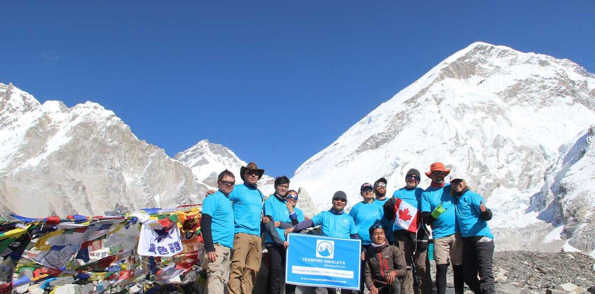 CLASSIC TRAIL TO EVEREST BASE CAMP TREKKING#nepal#himalayas#trekking_in_nepal#classical_trail_to_everest_base_camp#lifetime_adventure#trampinghimalaya#Tramping_Himalaya_Adventureshttps://www.trampinghimalaya.com/classical-trail-to-everest-base-camp-trekking.html…