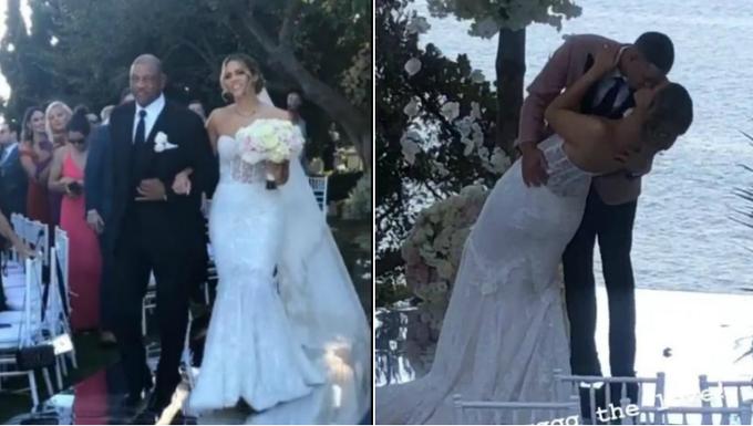 【影片】Seth與老河流女兒大婚!伴郎是萌神,伴娘是KD前女友,女兒們當花童!