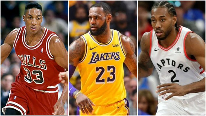 Pippen生涯最高47分18板15助,同為頂級前鋒的詹姆斯與Leonard呢?-Haters-黑特籃球NBA新聞影音圖片分享社區