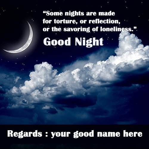 Mynameonpics On Twitter Write Name On Good Night Half Moon Images With Name Good Night Images With Love Good Night Images For Friends Lovely Good Night Images Mynameonpics Https T Co Qa57zlp6cz Goodnight Goodnightimages