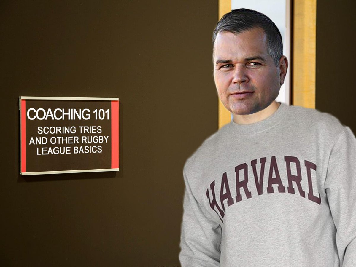 Anthony Seibold might need to head back to school in the offseason