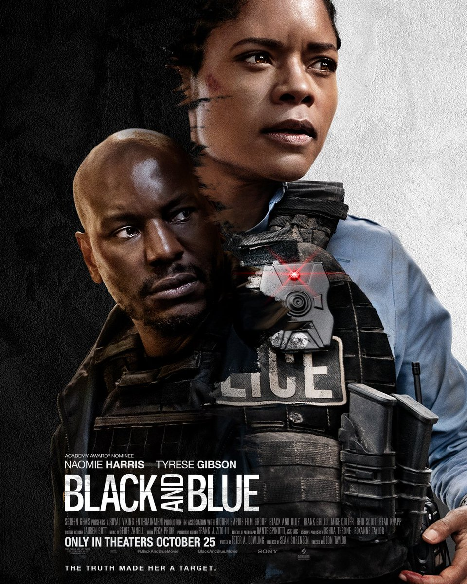 The truth made her a target. #BlackAndBlueMovie - only in theaters October 25th. 📹
