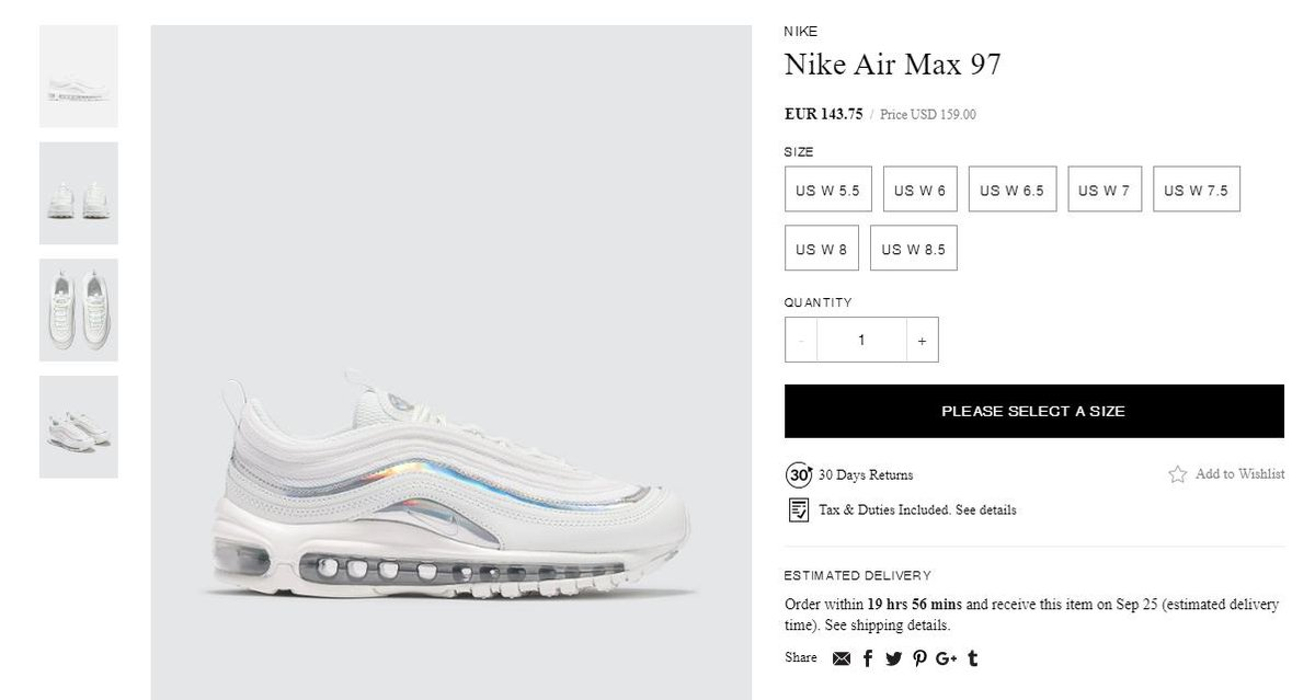 Air Max 97 London Summer of Love Nipsey Hussle