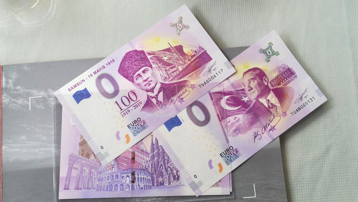 Avrupa Merkez Bankası 19 Mayıs 1919 - 2019 100. yıl hatıra banknot serisi #19mayıs1919 #euro #banknot #hatıra https://t.co/es4r4WO1BH