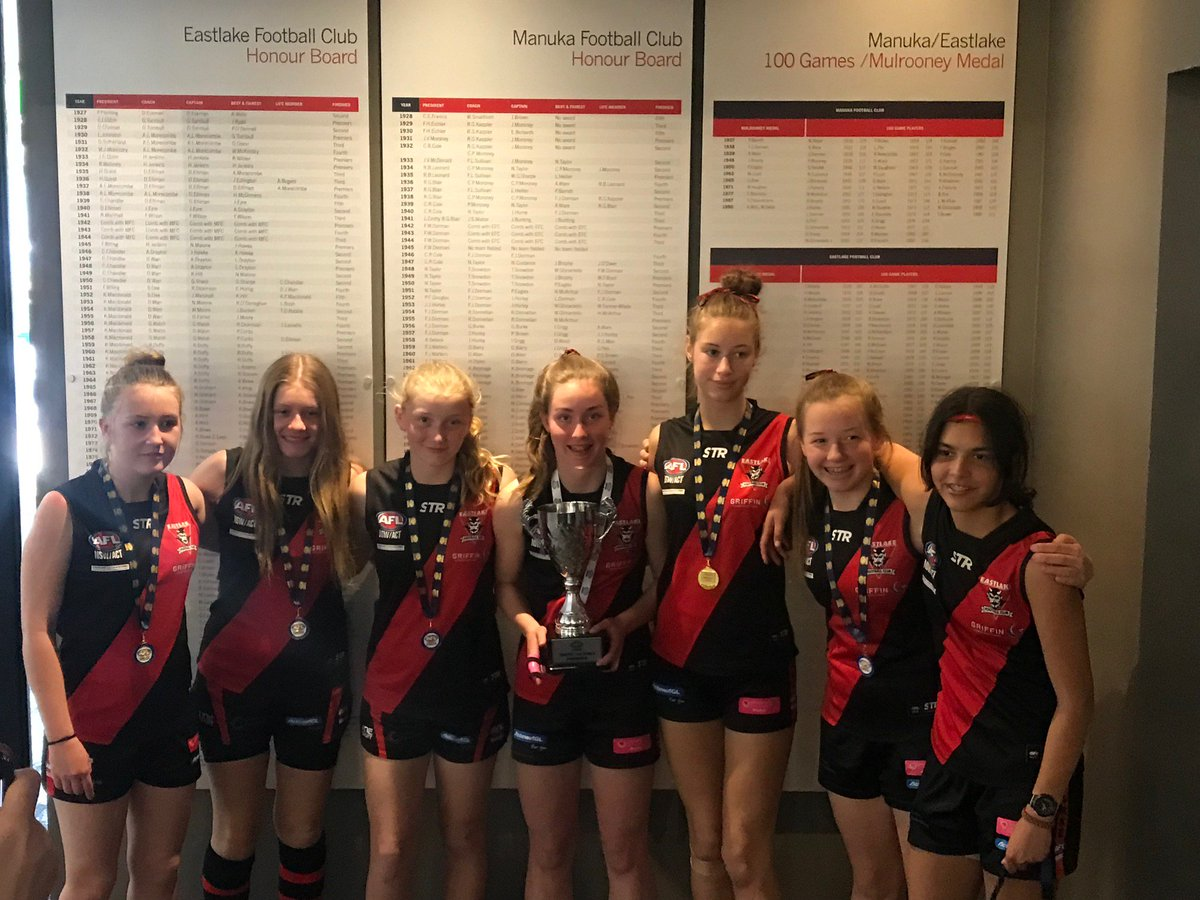 Congrats to the 8 CGS students in the premiership winning side for the U14s Girls' AFL competition on the weekend. Eastlake Black defeated Magpies 32-17. Congrats to Charlotte who won Best On Ground for the final. A well-deserved achievement in a very physical, tough game.