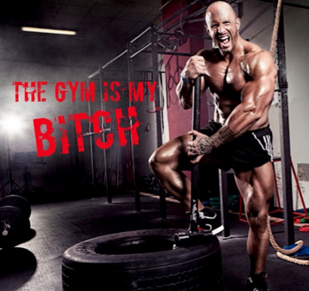 Make the gym your bitch! Go in and dominate your workout. Challenge your body to become greater. Define your limits. Set new records. Walk in like a bad ass and crawl out like a legend. #Gym #Workout #BeastMode #Goals #Motivation