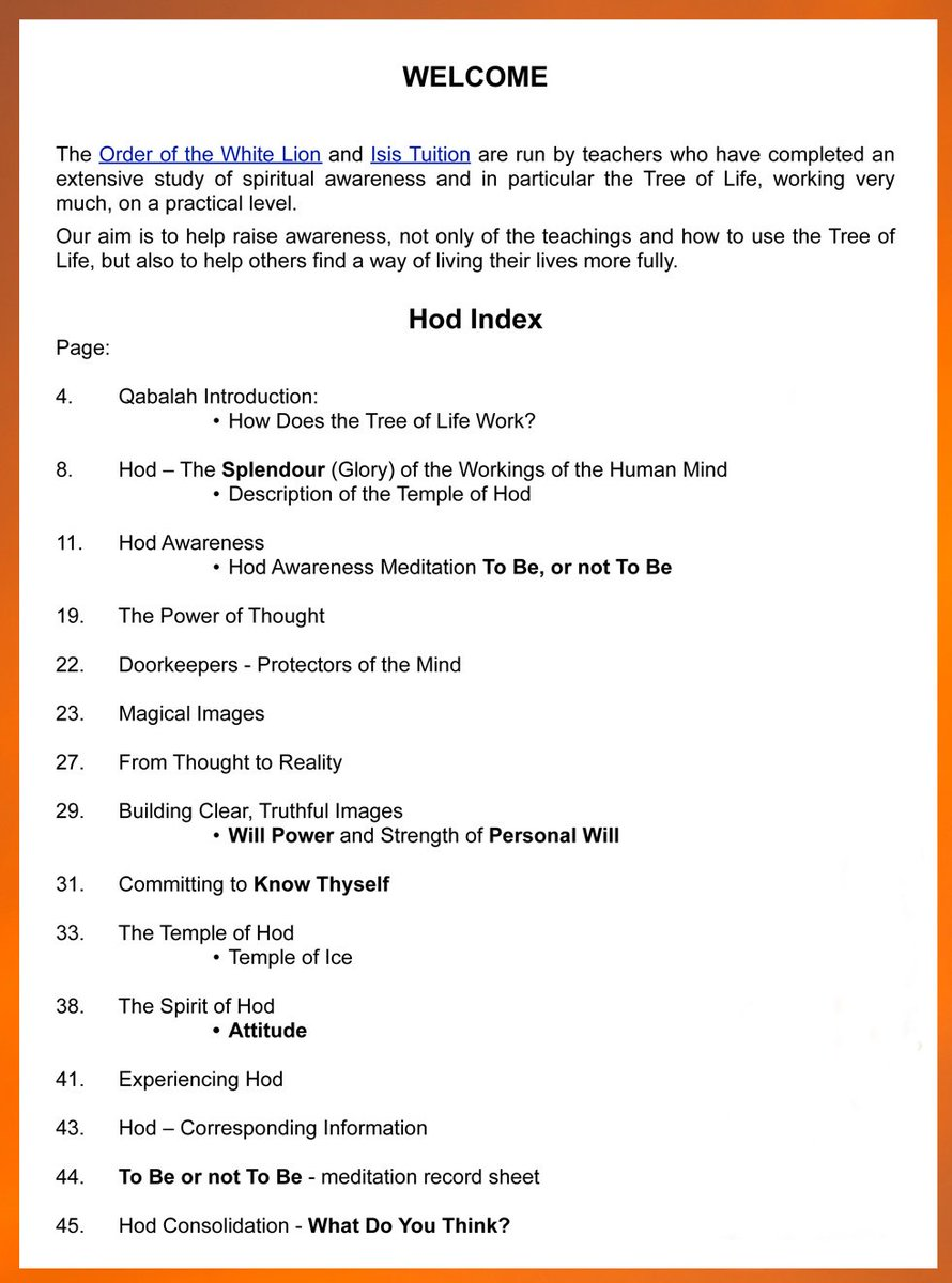 Did you know it is your attitude of mind that attracts influences towards you? Power of Thought and Tree of Life workbooks .... http://bit.ly/Hod_Qabalah  #meditation #spirituality