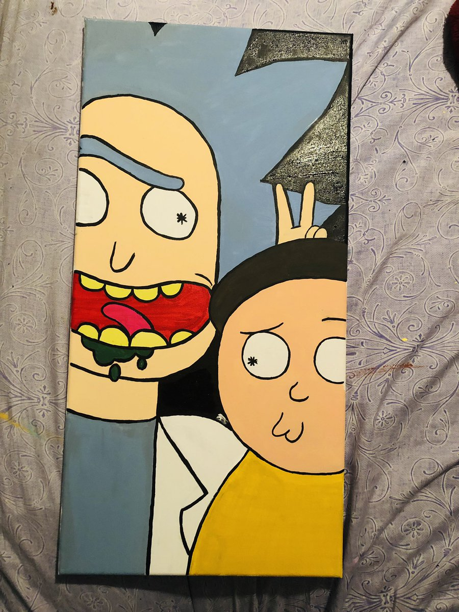 Customer wanted this in specific so they got it #rickAndMorty <br>http://pic.twitter.com/kX7z8C2P99