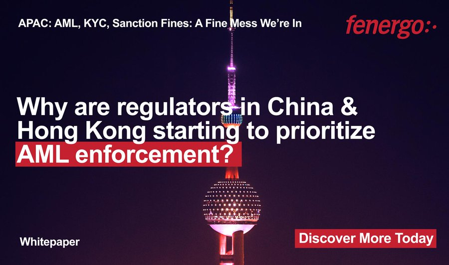 [Research] Financial crime enforcement trends across Asia-Pacific, based on research from ten years of AML and KYC fines data. Click here to download: https://www.fenergo.com/resources/whitepapers/a-fine-mess-we%E2%80%99re-in-aml-kyc-sanctions-fines-apac.html…  #AML #KYC #Tech #Compliance #Regulation #China #HongKong #MoneyLaundering