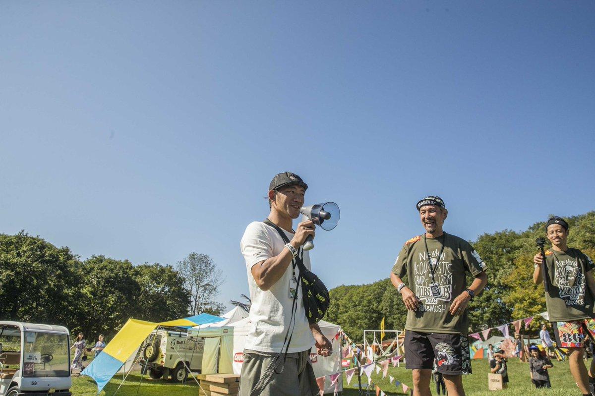 NEW ACOUSTIC CAMP 10th anniversary 今年はコースにニンバスも入れました!主催のOAU TOSHI-LOWに話しもしてもらって参加ランナーも大満足!ニューアコラン③#mobstyles #and_mosh #ニューアコ #ニューアコラン #オールナイトニンバス #スナック104 #chums #oau#colombia