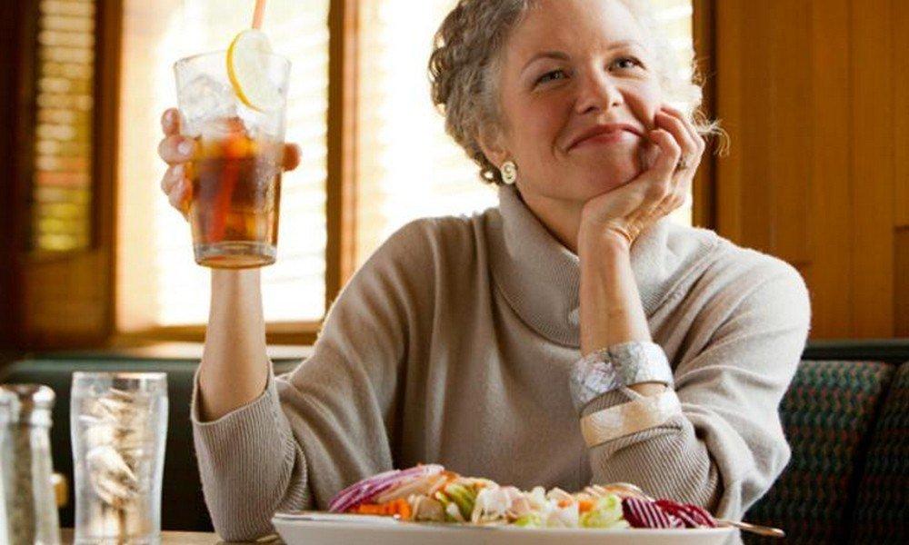 Меню как похудеть после 60 лет