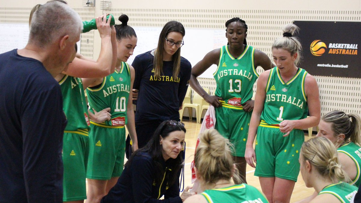 OPALS | The @ChemistWhouse Opals continued their training camp in Canberra today, as the build up continues to the game against China at AIS arena on Thursday night!.  Tickets➡️: http://bit.ly/2L75uIf  #GoOpals