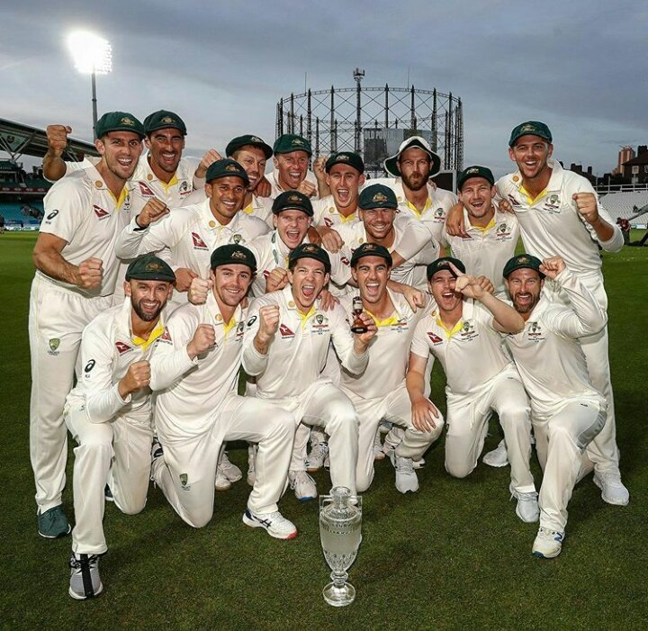 ASHES retained 👏🙌@CricketAus #Ashes2019 #Ashes