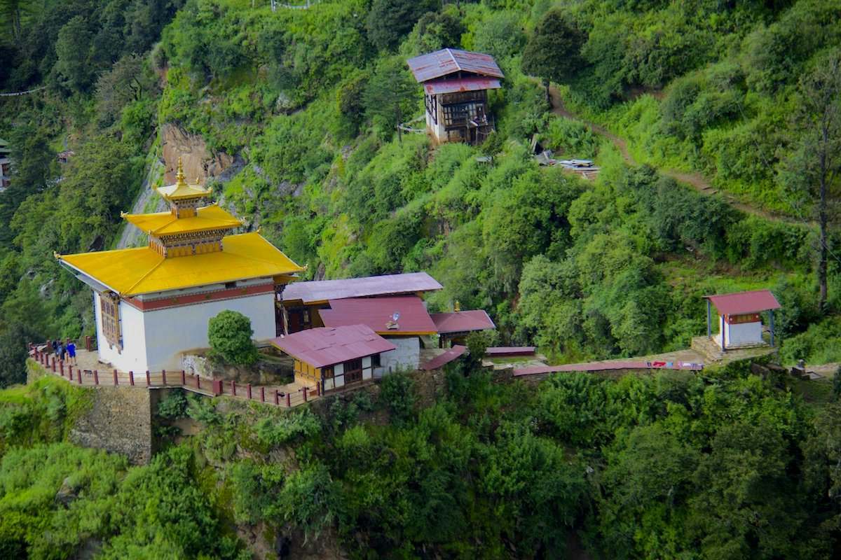 It is simply better being surrounded by mountains and the stunning landscape than by your computer and office stress. http://bhutantrekker.com #travel #hiking #nature #trekking #mountain #bhutan