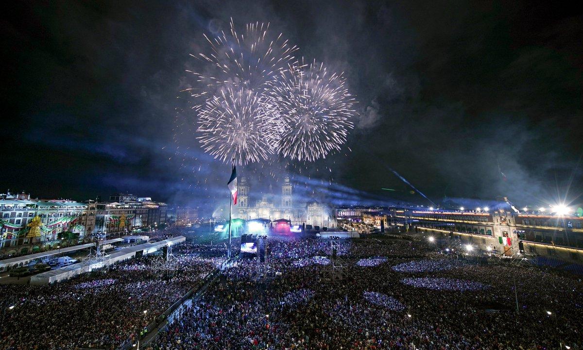 Ceremonia del CCIX aniversario de la Independencia de México #Zocalo #CDMX #15Sep #GritoDeIndependenciaPIX📸DA