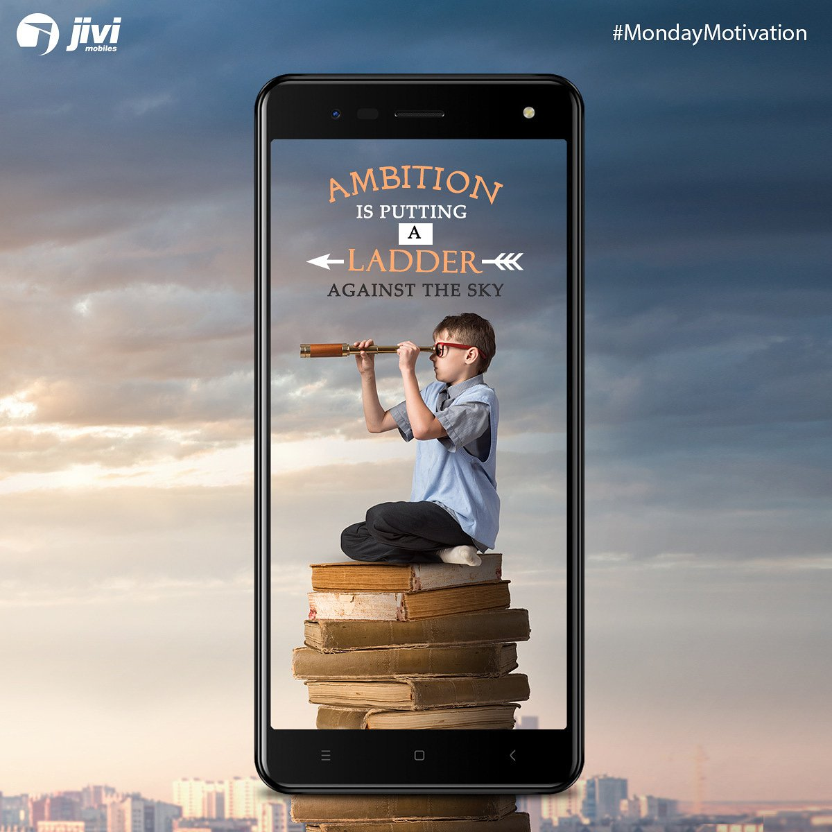 Make an effort to follow your ambitions. #JiviMobiles #MondayMotivation #Ambitions #Motivation #SmartPhone #Mobile #PhotoOfTheDay #PicOfTheDay #Techie #MobileLegends #Phone #Android #Device #AndroidOnly #Androidographer #Androidography #AndroidLove #MotivationalQuotes