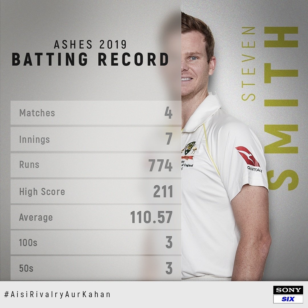 Steven Smith makes a comeback and how   #SPNSports #Ashes2019 #AisiRivalryAurKahan<br>http://pic.twitter.com/2LCbxB8Cd9
