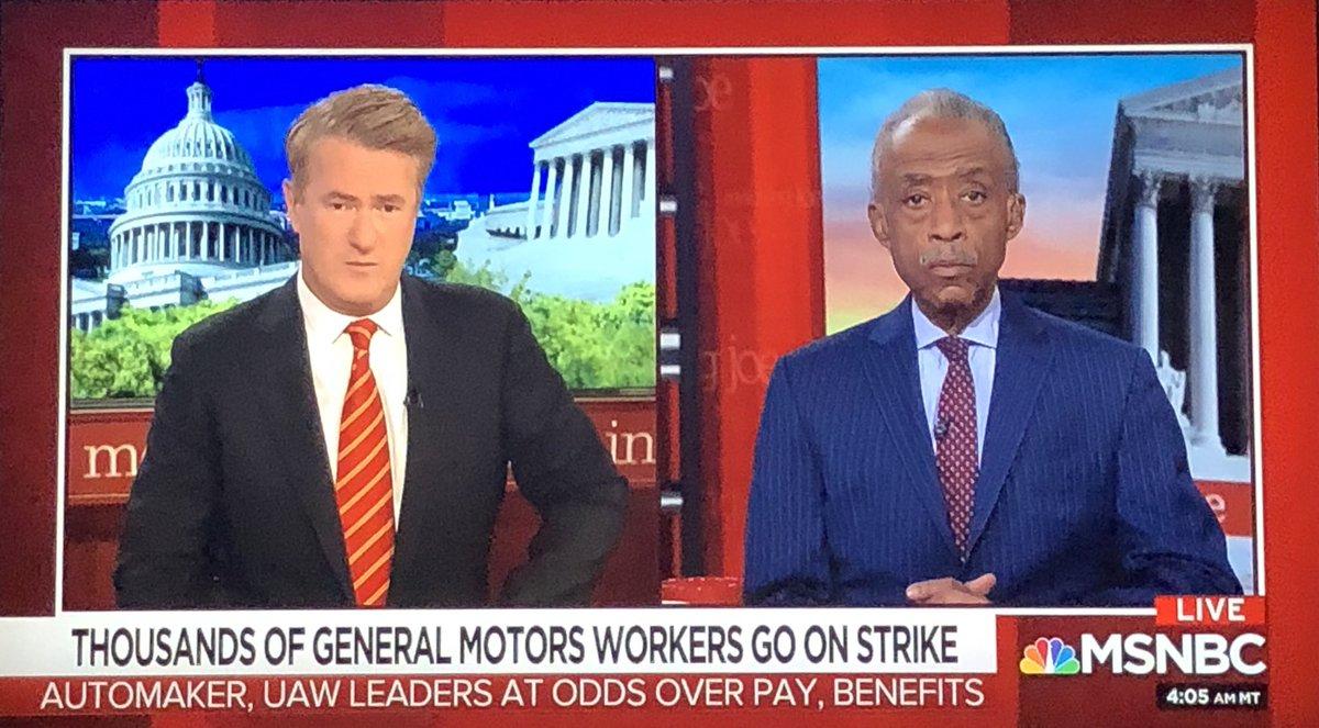 I am live on MSNBC's #MorningJoe, tune in. https://t.co/7SUr3h6Ixr