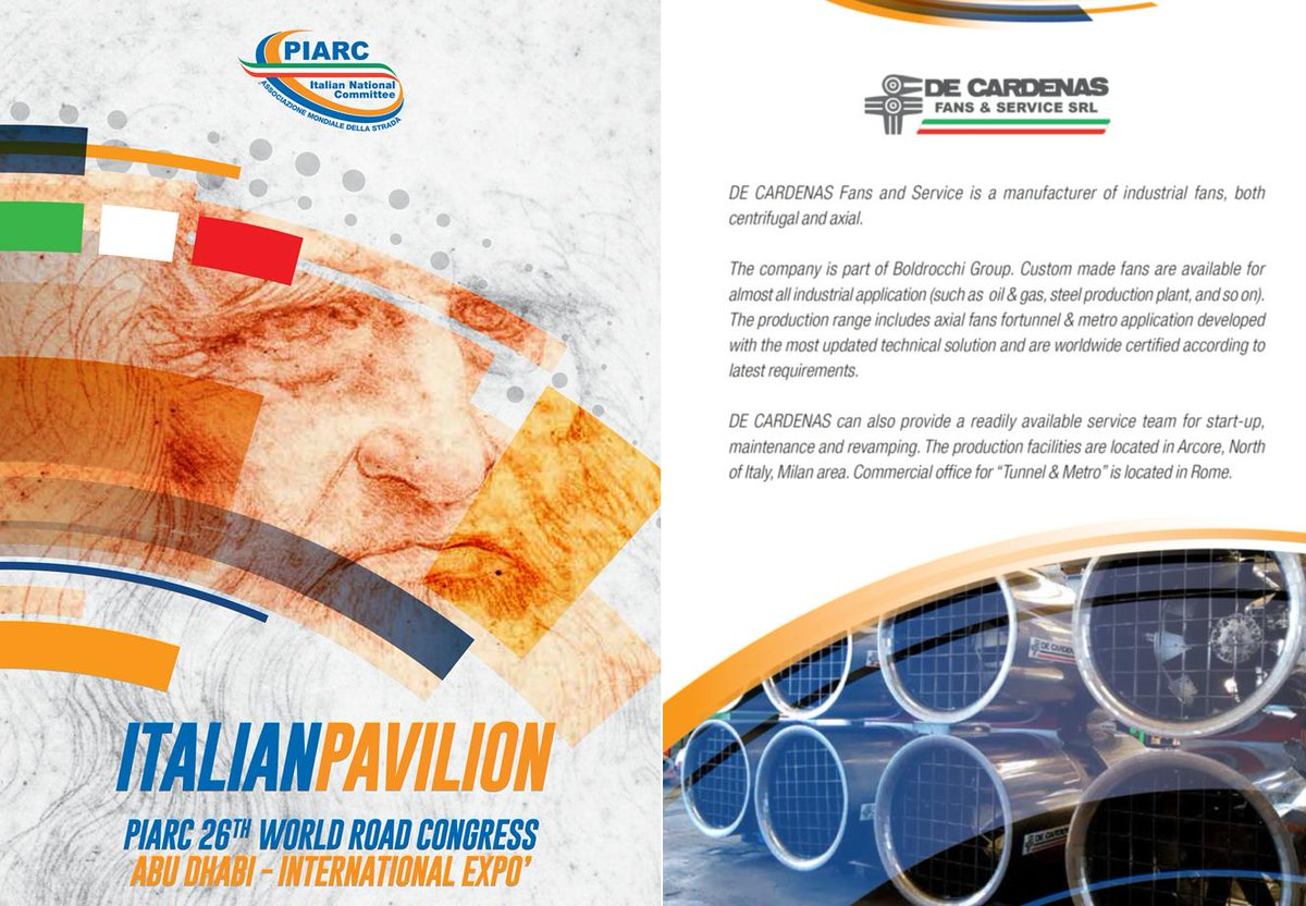 World Road Congress in ABU DHABI   6-10 October 2019 - ADNEC (Abu Dhabi National Exhibition Centre) - ITALIAN PAVILION #PIARCWRC2019<br>http://pic.twitter.com/o1ZuW5yhsZ