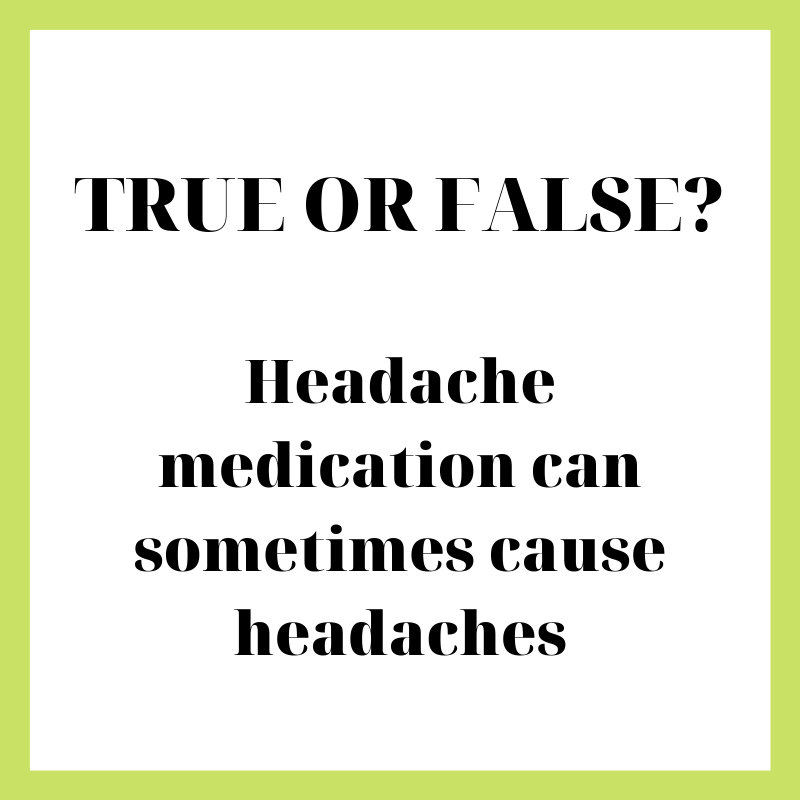 Did you know? A #ReboundHeadache is caused by the over-use of headache medication. Only take what is prescribed by a healthcare professional! #TrueOrFalse #KnowMore #CommunityOfChoice #DHCC #Healthcare #Wellness #PatientSafety #AlliedHealthcare #Dubai #HealthcareDestination pic.twitter.com/XHKGhQOHlU