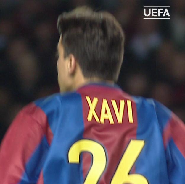 Xavi Hernández made his #UCL debut, #OnThisDay in September 1998 🔵🔴 👕1⃣5⃣7⃣ ⚽️0⃣1⃣2⃣ 🏆2⃣0⃣0⃣6⃣ 🏆2⃣0⃣0⃣9⃣ 🏆2⃣0⃣1⃣1⃣ 🏆2⃣0⃣1⃣5⃣
