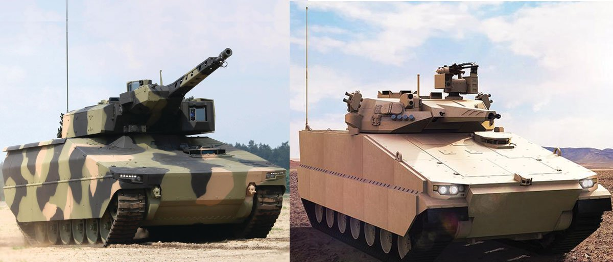 BREAKING NEWS: Defence has shortlisted Rheinmetall's Lynx Infantry Fighting Vehicle (IFV) and Hanwha's Redback IFV for Land 400 Phase 3:  https:// bit.ly/2kz2h9T     <br>http://pic.twitter.com/YNNAqnl1oa
