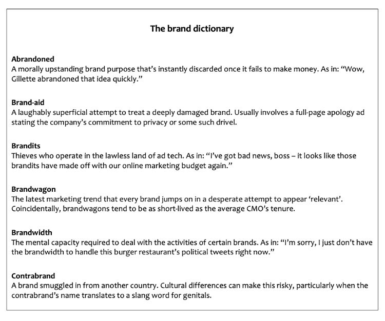 Need to update your branding vocabulary?   My brand dictionary is here to help. <br>http://pic.twitter.com/DnMVW0VdlS