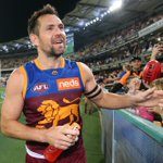 Image for the Tweet beginning: See the moment Luke Hodge