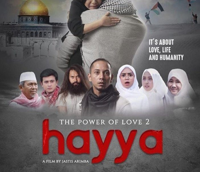 1. Hayya :RT 2. The Santri : Like  #BoikotFilmTheSantri