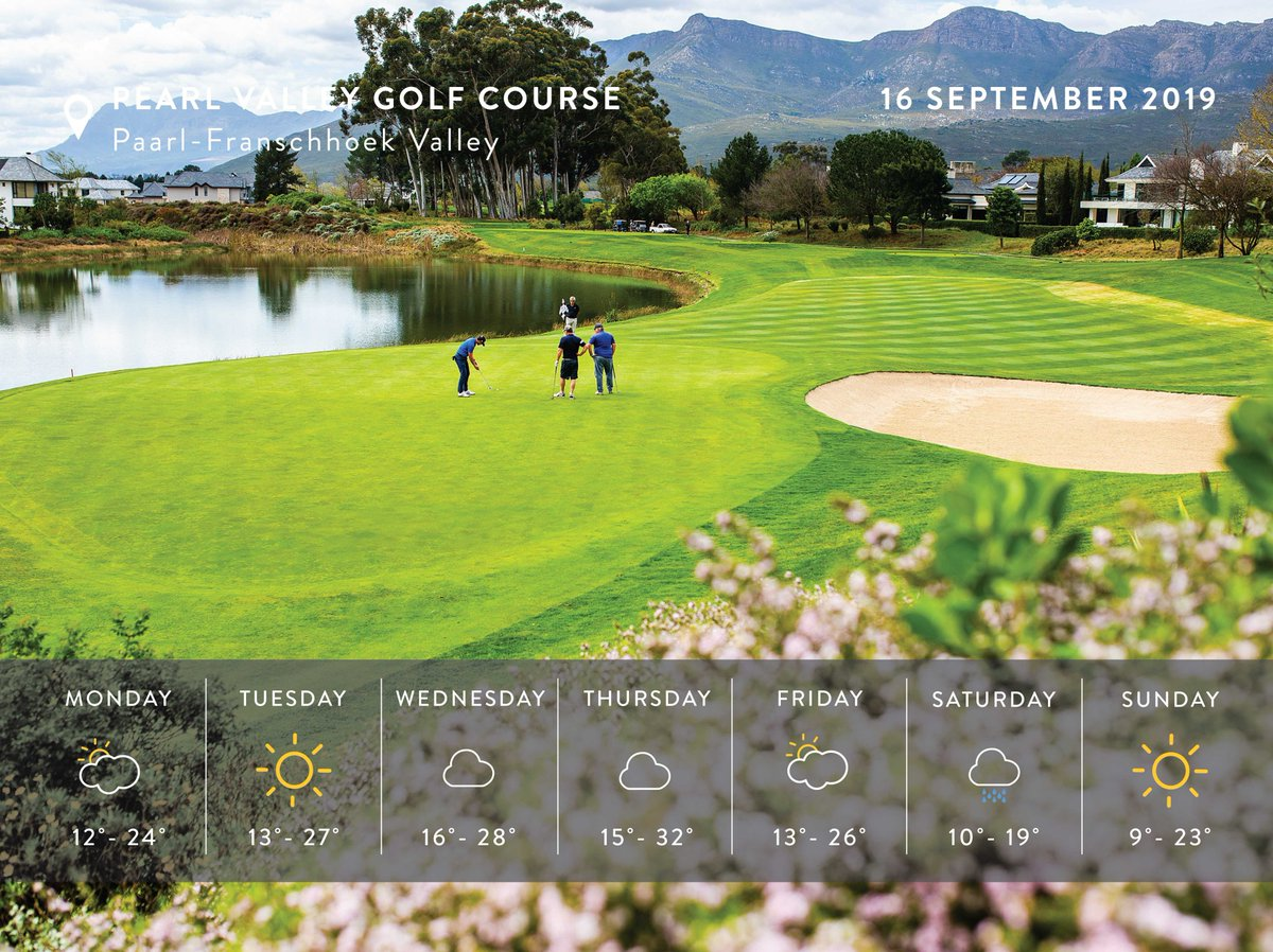The ultimate golf experience in the Western Cape awaits at Pearl Valley Jack Nicklaus Signature Golf Course!Winter rates valid until 28 September: http://bit.ly/playthepearlPost hollow tining special valid from 5 - 13 October, R495 pp including cart.#PlaythePearl