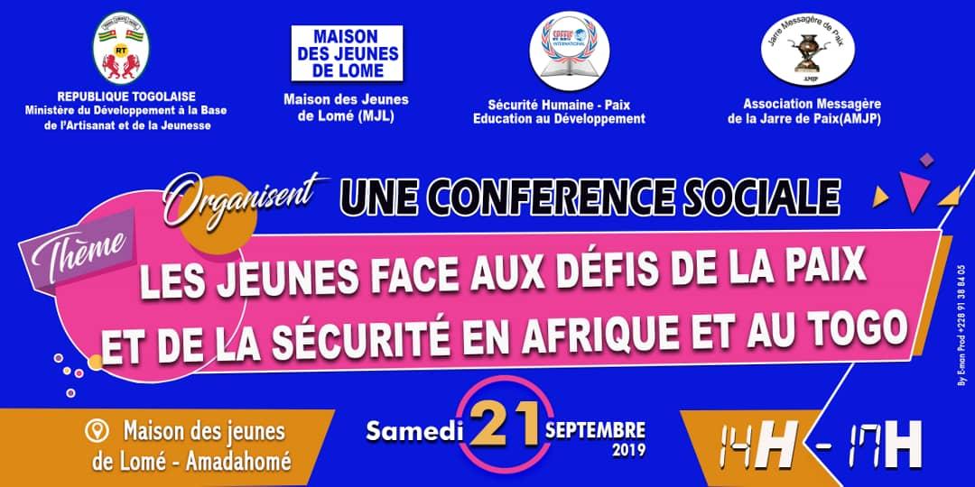La Maison des Jeunes de Lomé célèbre la Journée Internationale de la Paix. Vive la jeunesse consciente qu'elle doit participer à la promoytion de la sécurité et la paix dans son pays.  @DogbeVictoire @FirminSef  @SpeedInter1 https://t.co/PCJxsAlxrK